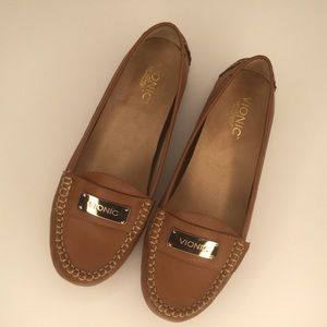 Vionic loafers driving shoes.